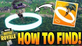 Fortnite - HOW TO FIND SECRET SKY RINGS! - Leaked Week 9 Season 3 Challenges !!