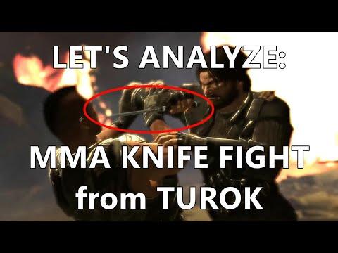 MMA knife fight in Turok (2008 game) |