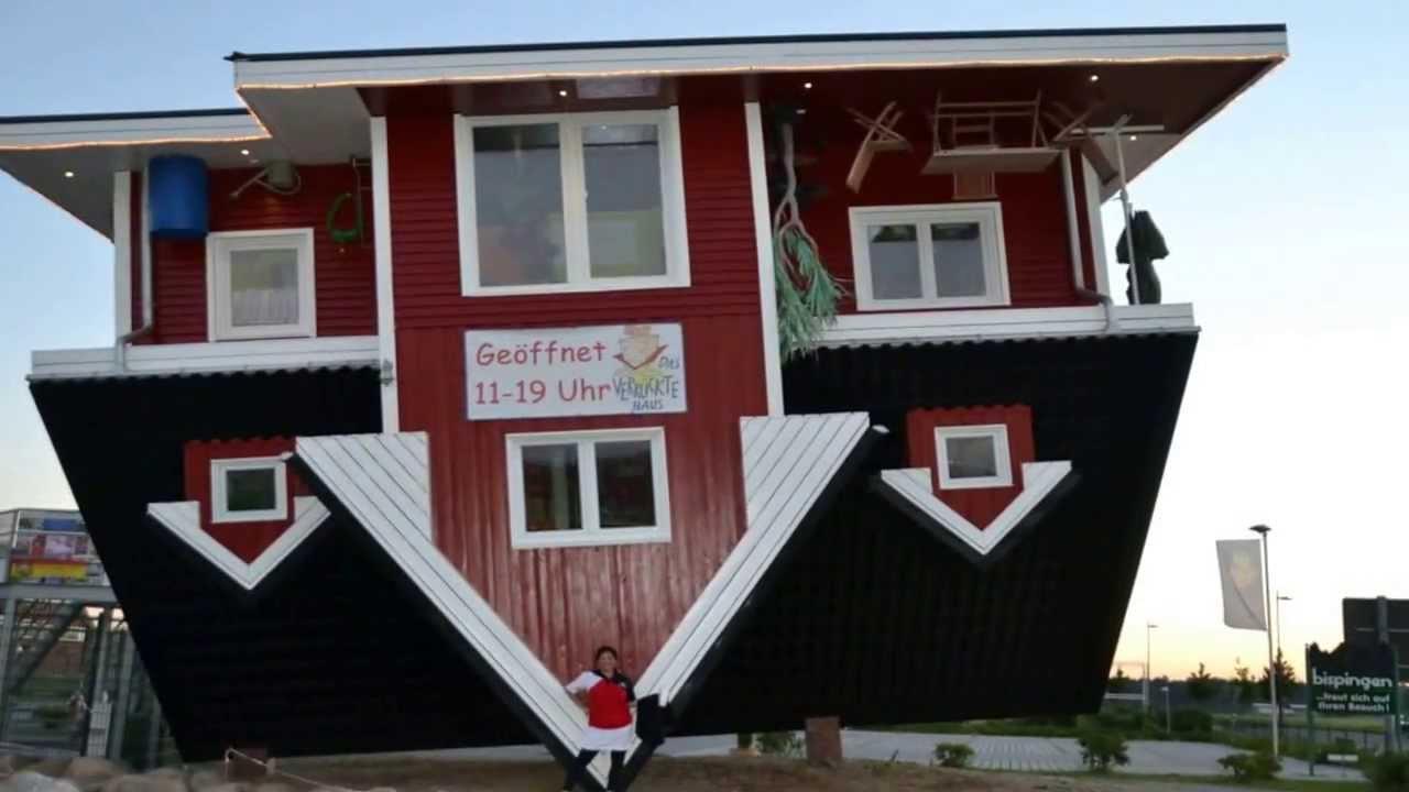 the crazy house das verr ckte haus in bispingen youtube. Black Bedroom Furniture Sets. Home Design Ideas