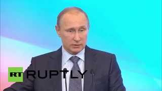 Russia: Vladimir Putin presents 2015's $21 billion anti-crisis plan