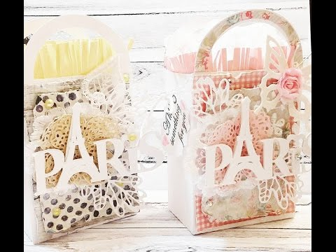 SHABBY PARIS GIFT BOXES | TUTORIAL | PLUS STAMP SET