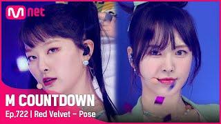 [Red Velvet - Pose] Comeback Stage | #엠카운트다운 EP.722 | Mnet 210826 방송