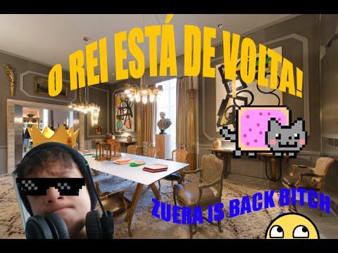 A VOLTA DO REI!- SKYWARS MINECRAFT