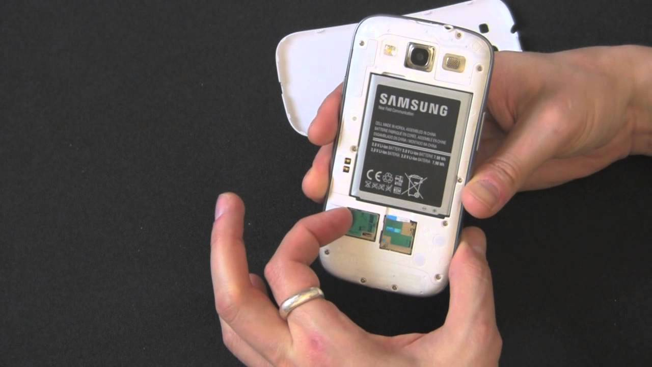 Samsung A3 Sd Karte.How To Remove Your Sim Card And Microsd Card From Your Samsung Galaxy S3