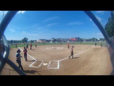 Lady Lookouts 03 win over Ohio Blast Shultz 9 to 4 062417 1