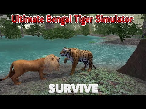 🐅Ultimate Bengal Tiger in The Jungle-Ultimate Jungle Simulator-By Gluten Free games-IOS/Android