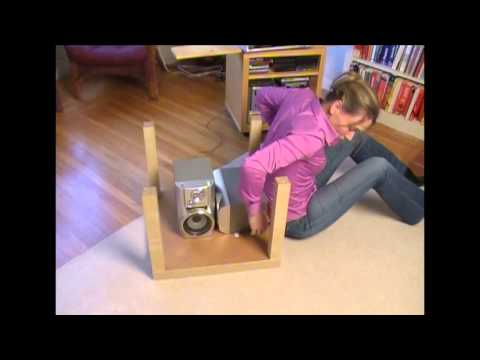 How to get up from the floor (after a fall) - MacGyver style!