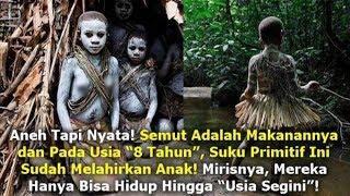 Suku Primitif Pygmy Pemakan Serangga.. Rata² Umurnya Hanya Bertahan Segini...