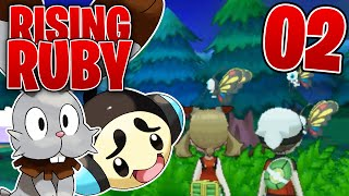 Pokemon Rising Ruby - EP 2 - Rising Ruby and Sinking Sapphire Playthrough