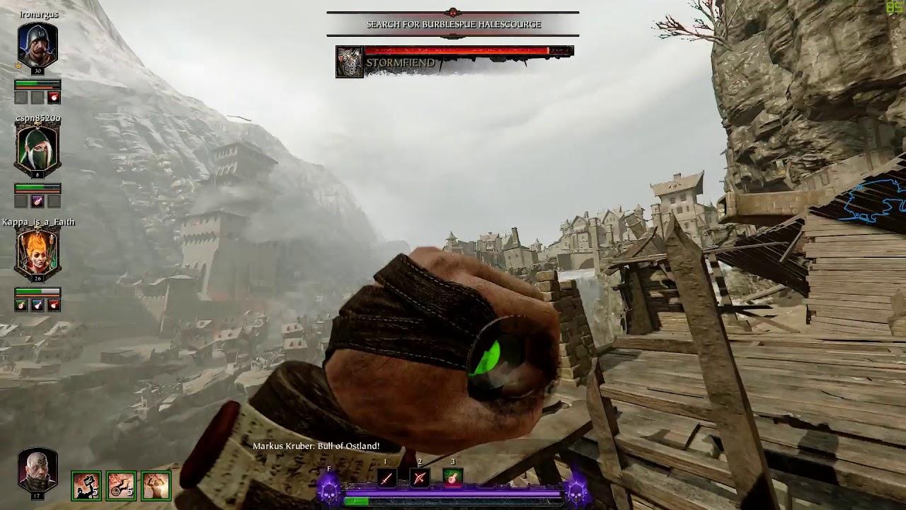 Warhammer  Vermintide 2 - Zealot VIktor