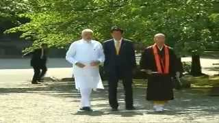PM Modi visit Toji Temple with Japan PM Abe