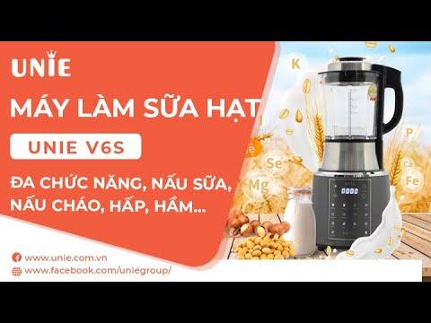Máy Làm Sữa Hạt Unie V6s - Tặng cân UN-135 trị giá 390.000đ