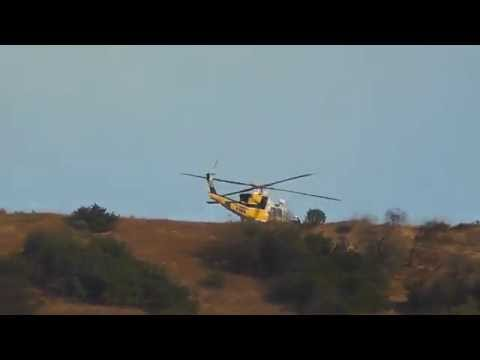full Uncut Perspective of California Fire in Calabasas and Topanga 6-4-16