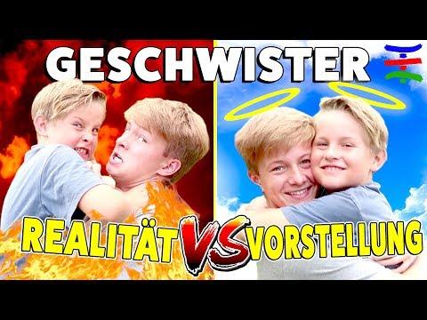 GESCHWISTER 😇 Vorstellung vs. Realität 😈 TipTapTube Family 👨👩👦👦