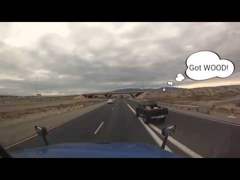 Near miss accident I 40 New Mexico