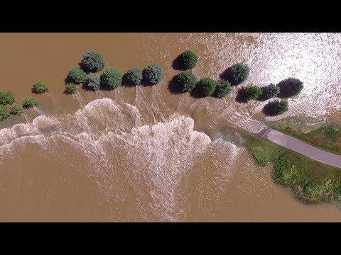 Southwestern Ontario Crazy Golf Course flooding! 06/24/2017