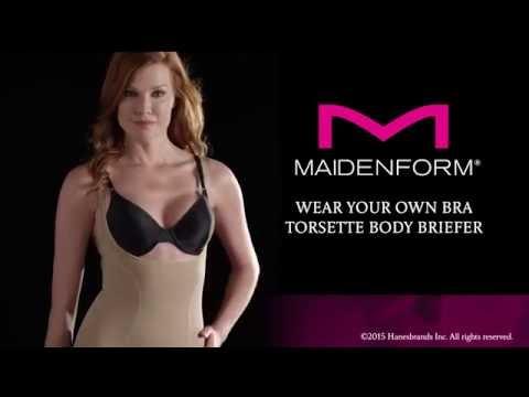 8dc7d404eb4c4 Maidenform Flexees Women s Shapewear Romper - YouTube