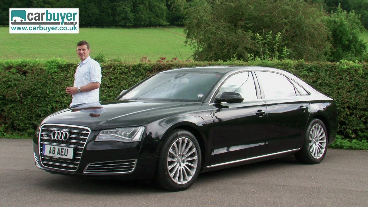 Audi A8 Saloon Review Carbuyer Youtube