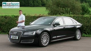 audi a8 saloon review carbuyer