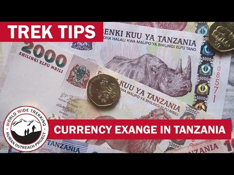 Currency Exchange in Tanzania for Safari & Kilimanjaro | Trek Tips