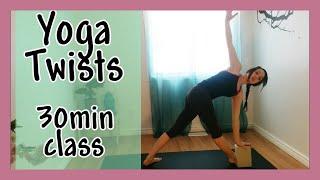 Twist & Detox The Body - 30 min Yoga Class