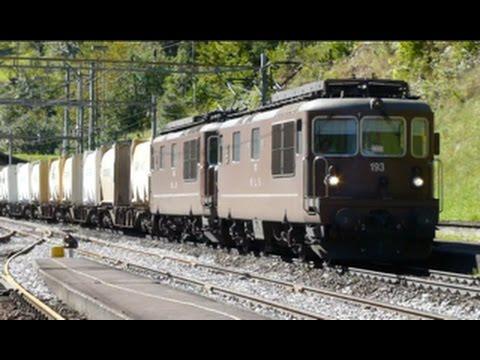 Swiss Trains: Gotthard route, Wassen, 14Sep14