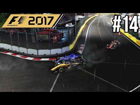 PITTEN ONDER SAFETY CAR BIJ LAATSTE RONDES?! - F1 2017 Career Mode #14 (Grand Prix Singapore)