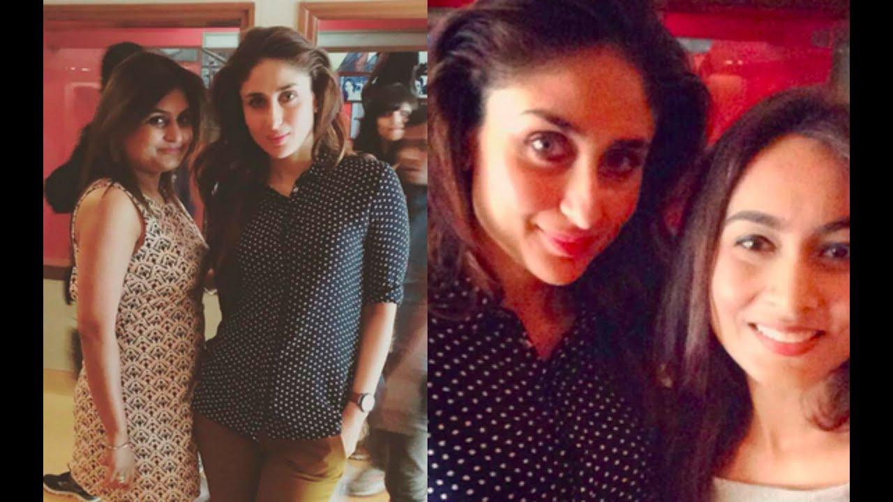 Ki And Ka - Kareena Kapoor Snapped With Fans - Youtube-4430