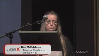 Municipal Election 2018 - London Mayoral Debate