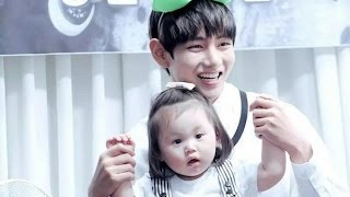 vuclip BTS WITH KIDS MOMENTS