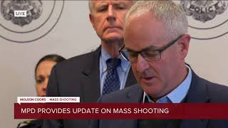Authorities provide update on Molson Coors mass shooting (Full news conference)