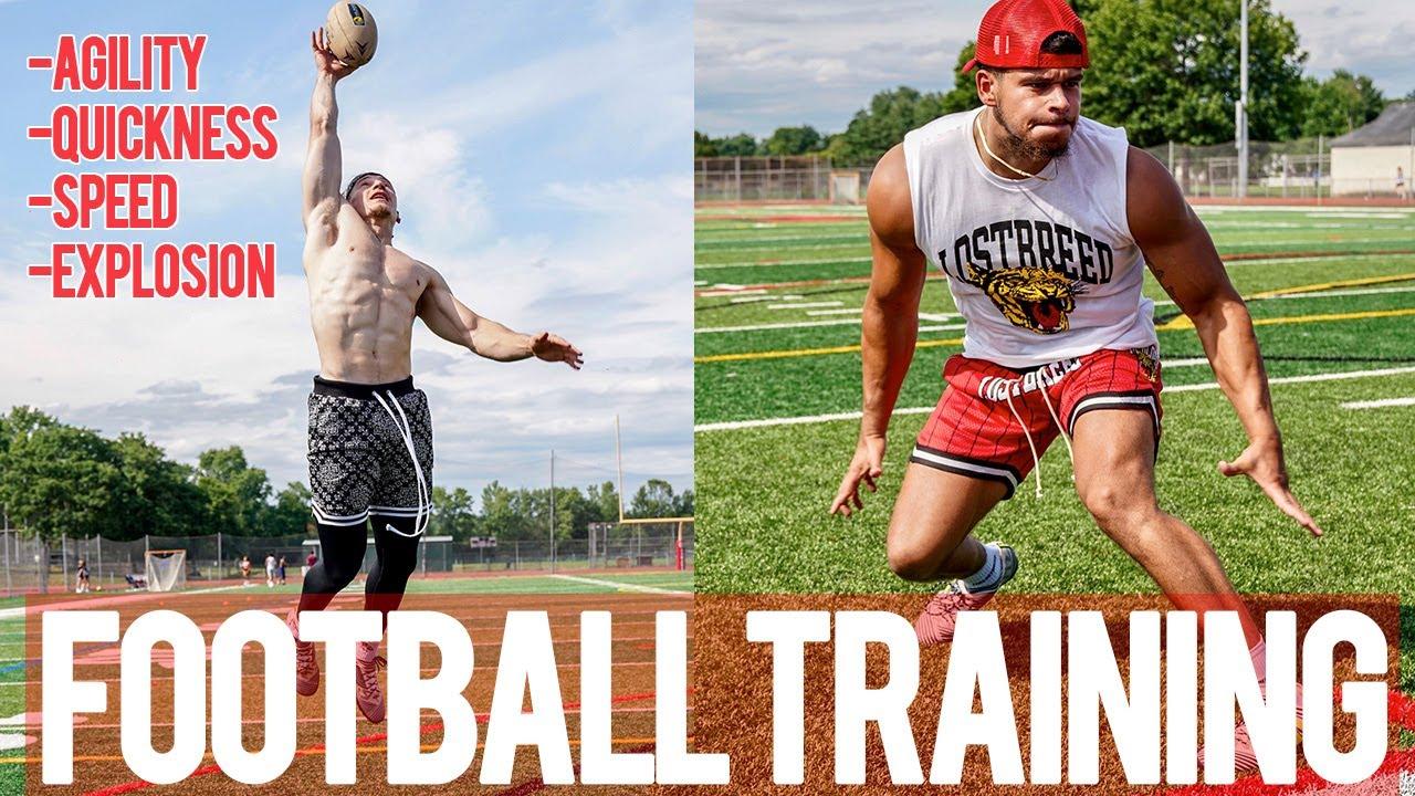 Football Training   Agility Quickness Speed