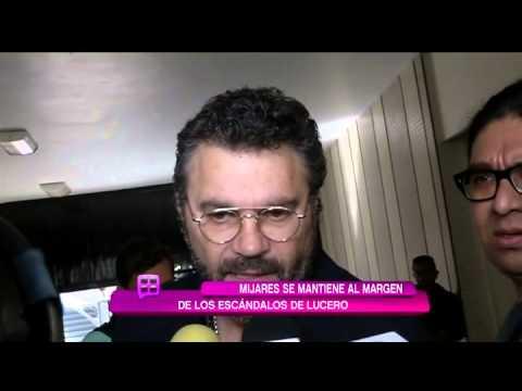 Mijares responde a escándalo de Lucero por fotos de caza
