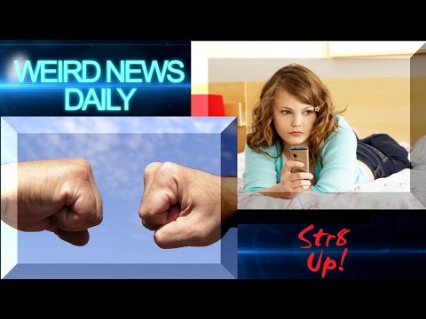 Teen SWATs Parents, Fist Bump Charity and more! | Weird News Daily for Monday, Aug. 22, 2016