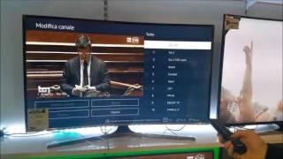 Tutorial come spostare i canali in uno smart tv SAMSUNG