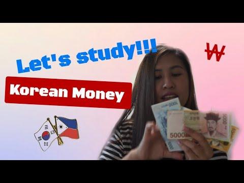 Let's Study Korean Money