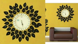 DIY Floral Designer Wall Clock/Diy wall clock/Wall Decor & Art/Room Decor/art my passion 18