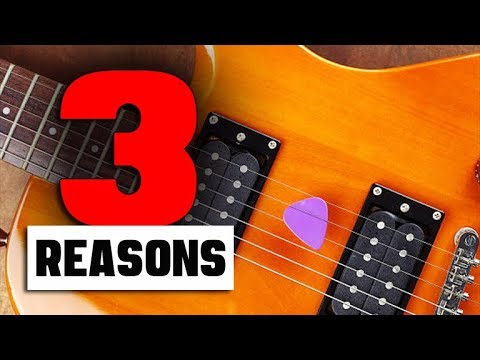 "3 Reasons Why Guitar Players ""FAIL""  (MYTH-BUSTER)"