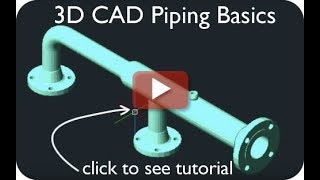 3D Piping Basics For Beginners In CAD
