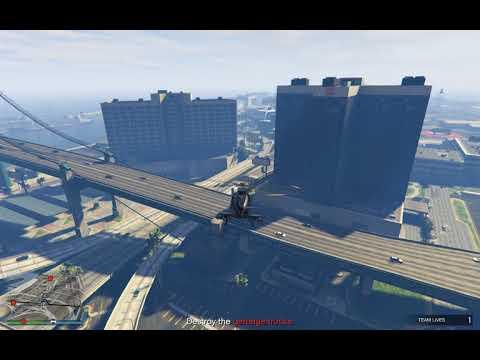 Grand Theft Auto V Trash talk mission (Solo)