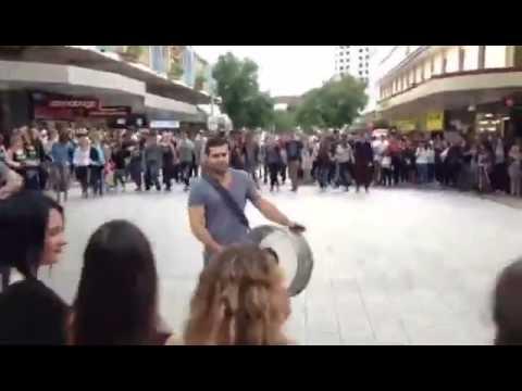 Brisbane's Middle Eastern Flashmob
