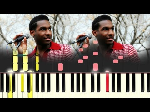 Leon Bridges- Outta Line [#reggiewatkins piano synthesia tutorial]