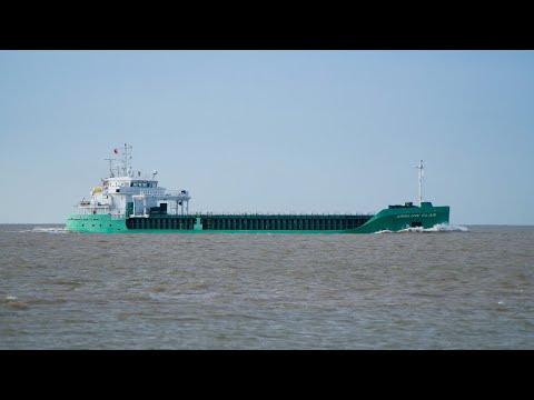 ARKLOW CLAN - General cargo vessel heading for port of ipswich 14/5/18