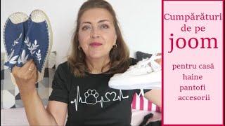 Cumpărături de pe joom.com (haine, pantofi, accesorii, articole pentru casă)