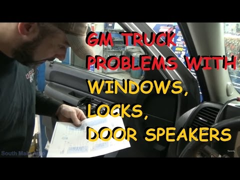 GMC / Chevy Truck - Power Window & Power Lock - Problems