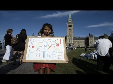 Canadian Native Leaders and Activists Oppose Tar Sands  Pipeline