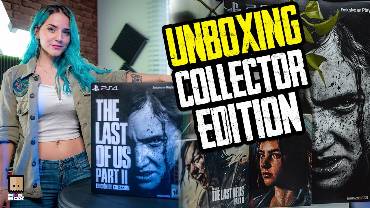 Unboxing The Last Of Us Part 2 Edición Coleccionista Youtube