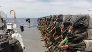 Coast Guard having record year chasing down cocaine smugglers