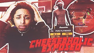 CHEESEAHOLIC EXPOSED!!! ME AND MYA FINALLY GOT OUR REVENGE 😱 NBA 2K18