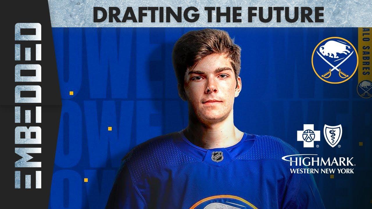 Download Sabres: Embedded 2021: Finalizing the NHL Draft Picks of Owen Power and Trading Sam Reinhart